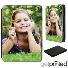 Personalised iPad Mini 1 / 2 / 3 Leather Flip Case Cover Custom Create Your Own