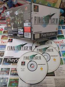 Playstation-PS1-Final-Fantasy-VII-7-TOP-RPG-amp-1ERE-EDITION-COMPLET-Fr
