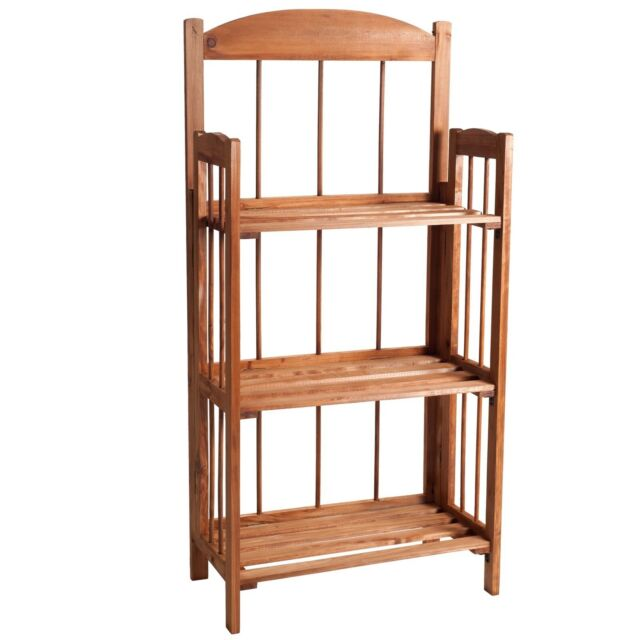 Modern 3 Shelf Bookcase In Light Cherry