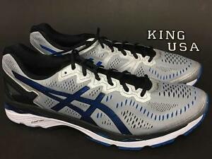 f6e603db0f87 Men s Asics GEL-Kayano 23 Running Training Shoes Silver Imperial ...