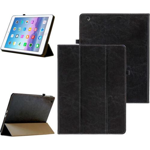 Premium Custodia Protettiva in Pelle per Apple iPad 234 TABLET CUSTODIA COVER CASE NERA