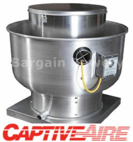 Details about  /10/' FT Low Profile Restaurant Commercial MakeUp Air Hood CaptiveAire SYSTEM