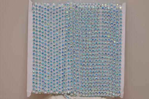 Strassborte blau ab  Strassband Strass 50cm 2mm SS6 Bauchtanzkostüm