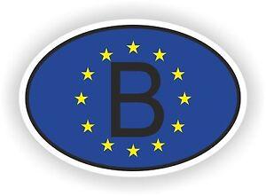 B BELGIQUE Autocollant OVAL drapeau UNION EUROPEEN Voiture moto Caravane coffre - France - État : Neuf: Objet neuf et intact, n'ayant jamais servi, non ouvert, vendu dans son emballage d'origine (lorsqu'il y en a un). L'emballage doit tre le mme que celui de l'objet vendu en magasin, sauf si l'objet a été emballé par le fabricant d - France