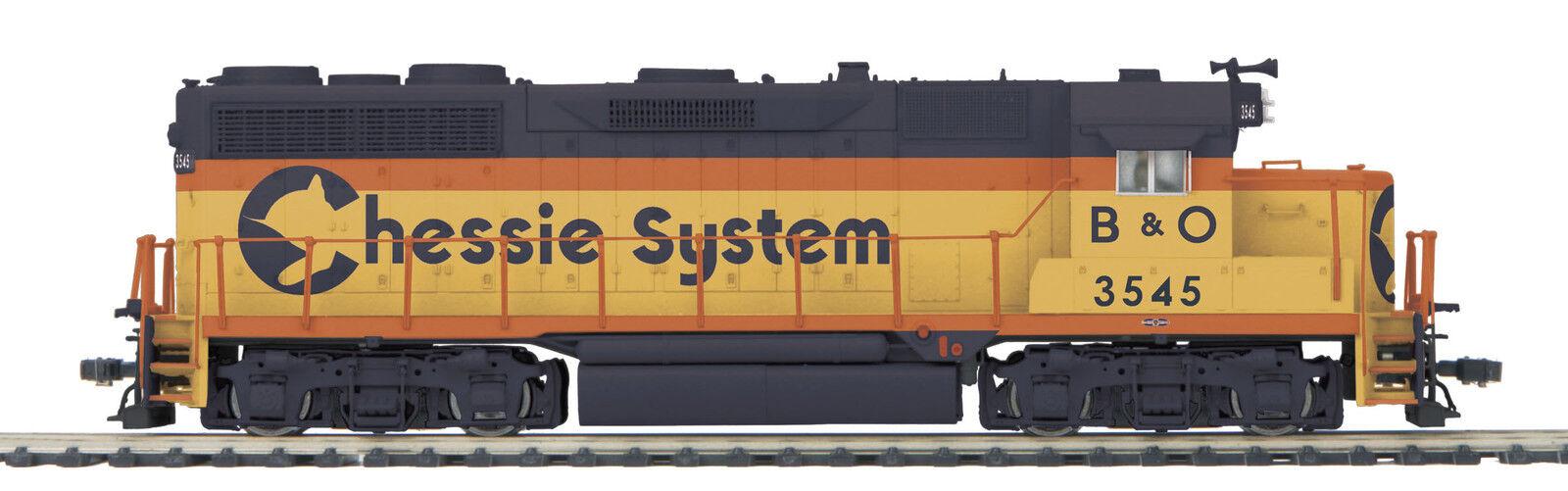 MTH HO Trains Chessie B&O GP-35 Diesel Engine DCC Ready 80-2230-0