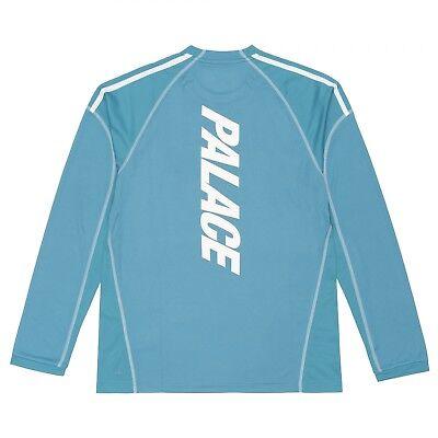 Palace x Adidas LSL Long Sleeve Tee Size Medium M New Blanch Blue 190311962330 | eBay