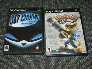 034-Sly-Cooper-and-the-TR-amp-Ratchet-amp-Clank-034-PS2-BL-Complete-Ships-Boxed