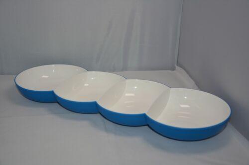 Tupperware Allegra Perle Chic Servierschale Schale Gold Blau C154b Neu /& OVP