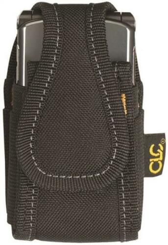 NEW CLC 5124 BLACK NEOPRENE CELL PHONE TOOL HOLDER POUCH  METAL CLIP 3438165