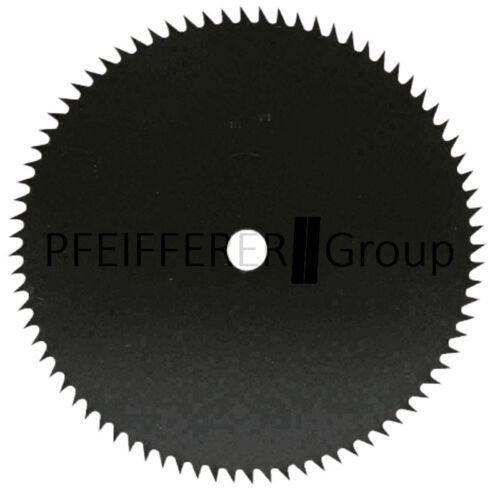 Spitzzahn-Kreissägeblatt 250 mm x 1,6 mm Bohrung 20 mm 80 Zähne