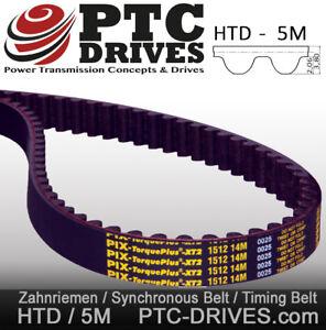 710 5M 25 mm Breit 142 Zähne Timing Belt Zahnriemen HTD