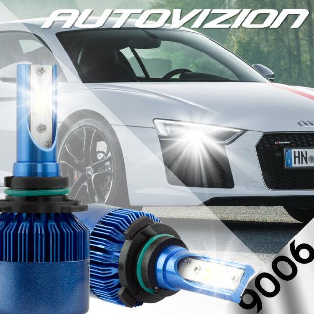 AUTOVIZION LED HID Headlight Conversion Kit 9006 6000K For