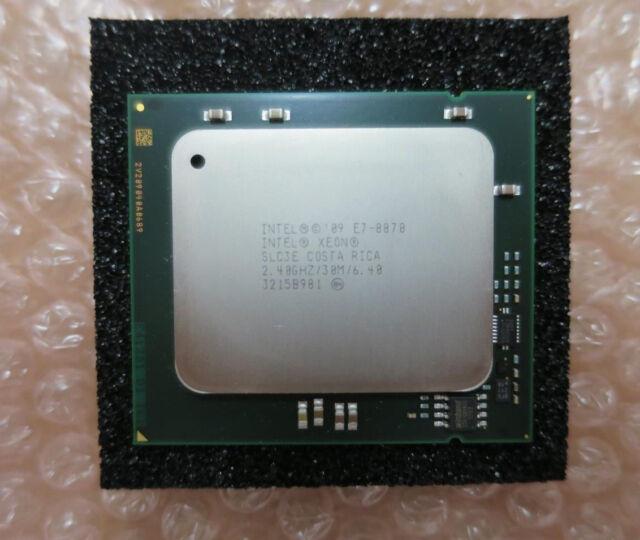 Intel Xeon SLC3E E7-8870 Ten Core Processor CPU 2.40GHz 30MB 6.40GT/s LGA1567