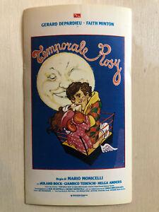Aufkleber & Sticker Film-fanartikel UnabhäNgig Poster Plakat Sticker 1980 Gerard Depardieu Temporale Rosy Hurricane Rosie