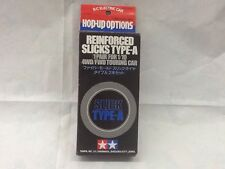 TAMIYA 1/10 - GOMME REINFORCED SLICKS TYPE A - PER. 4WD / FWD TOURING CAR
