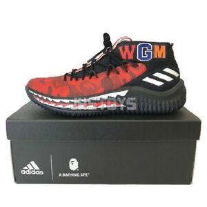 innovative design d1527 a8f1c Adidas-Bape-Dame-4-Red-Camo-AP9976-US-