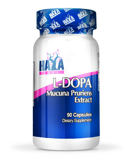 Haya Labs - L-DOPA - Mucuna Pruriens Extract - 90 Caps - estratto