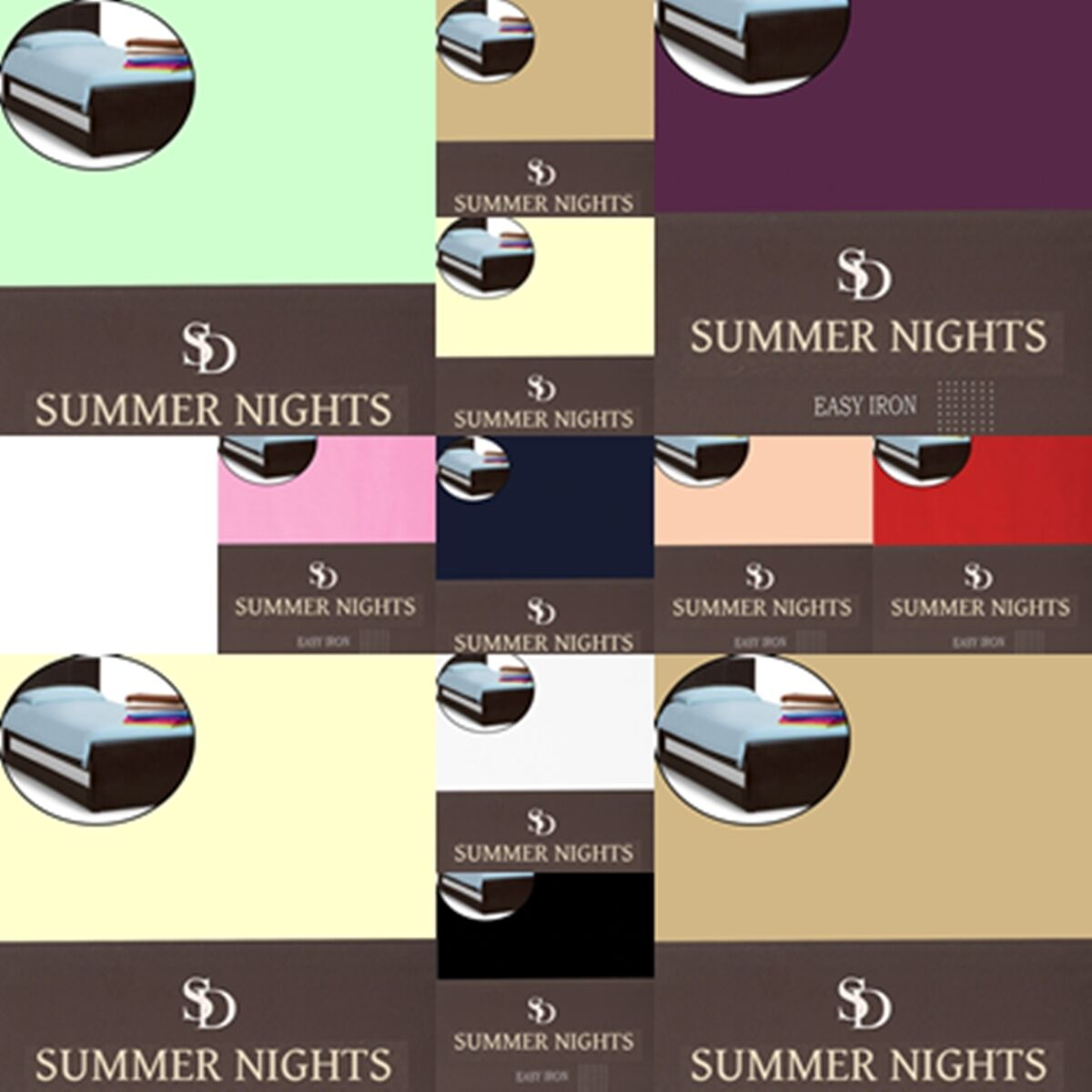 Duvet-Quilt Covers All Sizes Premium Quality available main colors