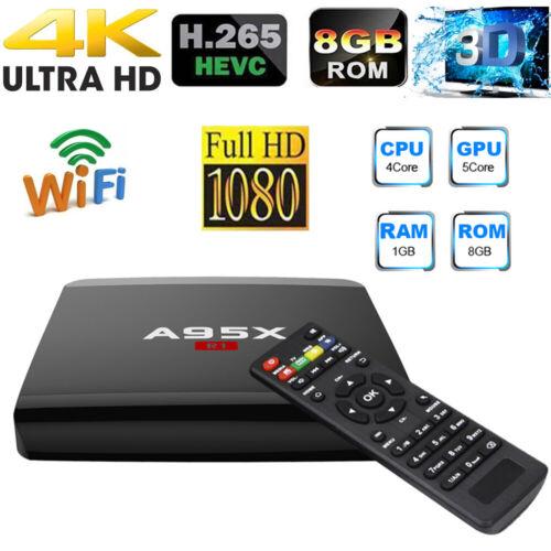 A95X R1 Smart Android TV Box Android7.1 RK3229 Quad Core 4K HD WiFi Mini PC