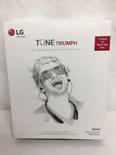 lg hbs-510 tone triumph wireless stereo headset black ship | ebay