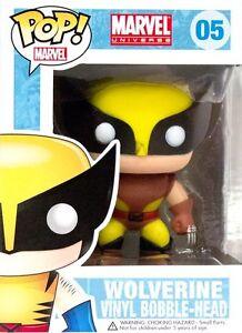 X-Men - Wolverine Brown Costume Pop! Vinyl Bobble Head Figure NEW In Box Funko