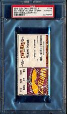 2010 LeBron James 1st Game w/ Miami Heat vs. Cleveland Cavaliers Ticket 12/2 PSA