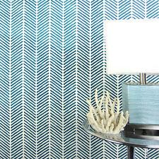 Herringbone Stitch Allover Stencil - Arts and Crafts Wall Pattern Stencils