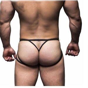 2f599acf0c28a8 Sexy Lingerie T-back Thong G-String Men's Pouch Underwear Jockstrap ...