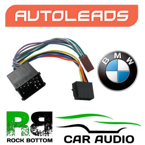 Autoleads pc2-05-4 Bmw Z3 99 En Adelante E36 Witout Activo Sub ISO Cable adaptador de enchufe