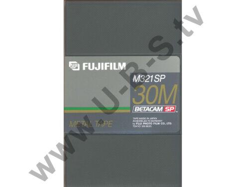 Betacam SP Kassette Fujifilm M321SP 30M NEU