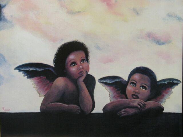 Black Angel Babies from Heaven 16x20 Poster | eBay