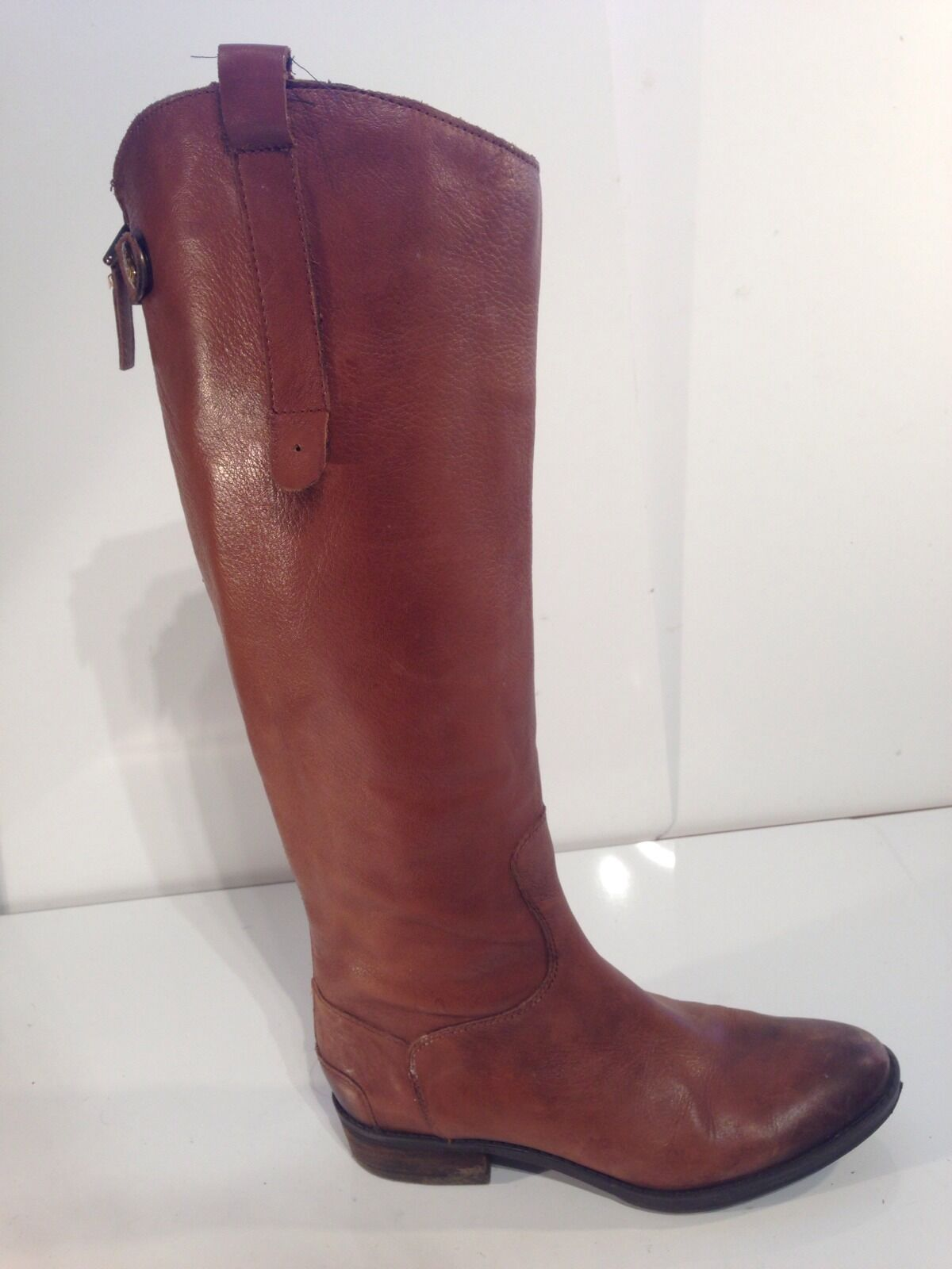 Sam Edelman Womens Brown Leather Penny Penny Penny Boots shoes Size 6M 0e8c9c
