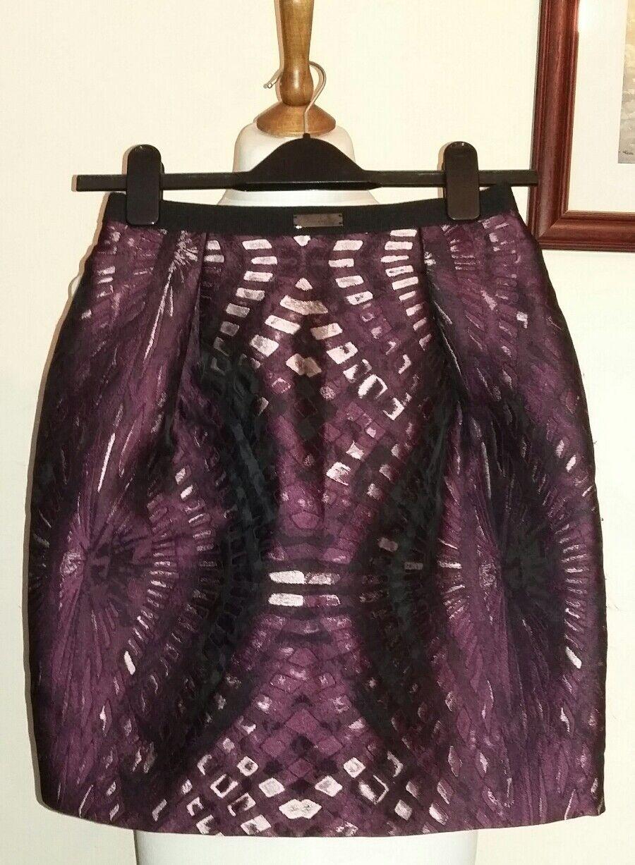 JOHN RICHMOND Mini Skirt Purple Size ITA 40,