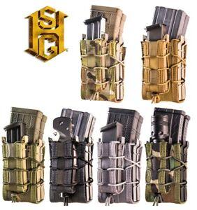 HSGI MOLLE X2RP Taco Double fusil & pistolet Magazine Pouch - 112RP0-MC-CB-OD-BK-WG-C-CB-OD-BK-WGafficher le titre d`origine G9WJOLGM-07154639-678444216