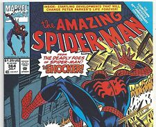 The Amazing Spider-Man #364 vs. The Shocker from July 1992 in VF condition NS