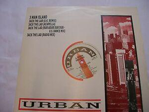 3-MAN-ISLAND-Jack-The-Lad-4-MIXES-1988-UK-12-Maxi-Electro-house-classic