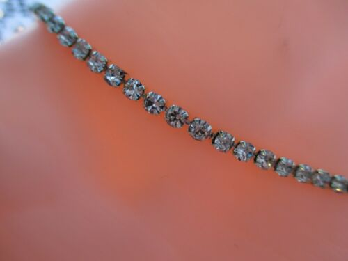 ANKLET//BRACELET SPARKLING CRYSTAL DIAMANTE RHINESTONE EXTENDER LOTS OF SIZES