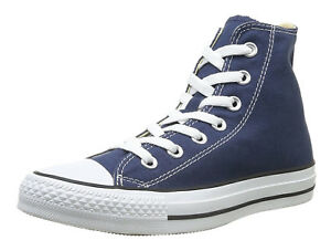 Converse-Chuck-Taylor-All-Star-Hi-Tops-Navy-Mens-Sneakers-Tennis-Shoes-M9622