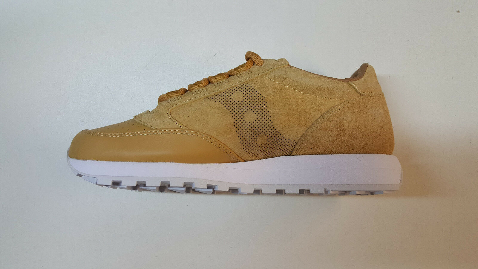 SAUCONY JAZZ ORIGINAL 35TH ANNIVERSARY LUX WHEAT LEATHER SUEDE MENS S70264-2