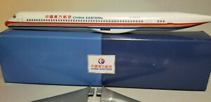 FLIGHT MINATURES CHINA EASTERN MD-82 1:130 SCALE PLASTIC SNAPFIT MODEL