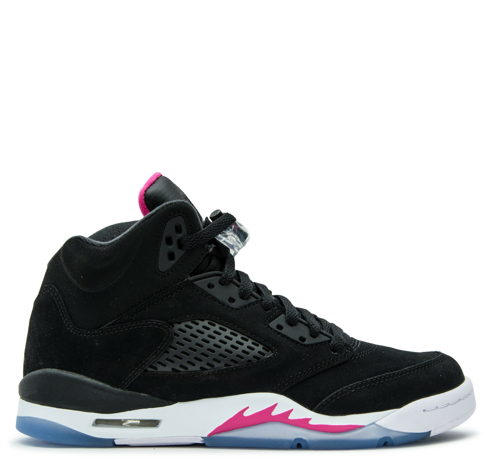 "Grade School Youth Size Nike Air Jordan Retro 5 /""Deadly Pink/"" 440892 029 Fashion"