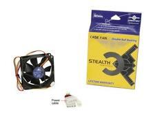 Vantec Stealth 80mm Double Ball Bearing Silent Case Fan - Model SF8025L