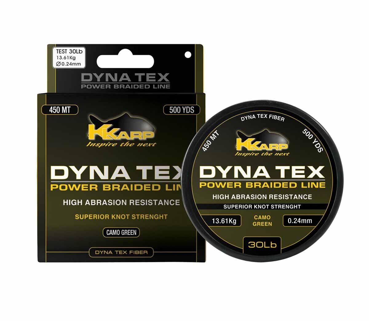 Monofilo Trecciato K-Karp Dyna-Tex energia Braid Pesca autopfishing lungo Range RN