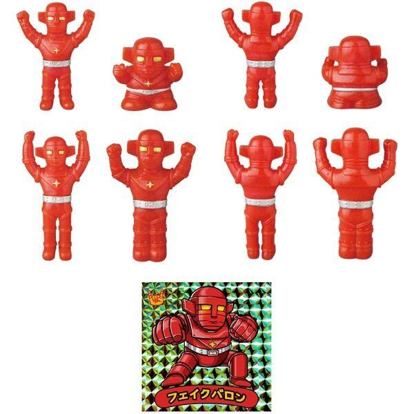 Fake Baron (Glitter Version) Mini Sofubi set  of 4 by Awesome giocattolo x Medicom  sport caldi
