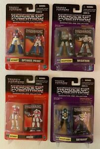 Transformers Heroes Of Cybertron 4 figure lot~Optimus Prime, Megarton 2 more