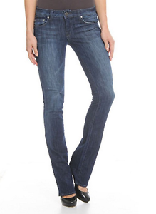 NWT-William-Rast-Blair-Baby-Bootcut-Jeans-in-Beverly-Blue-Size-26X34-MSRP-187