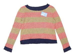 BDG-Womens-Size-M-Striped-Cotton-Blend-Multi-Coloured-Jumper-Regular