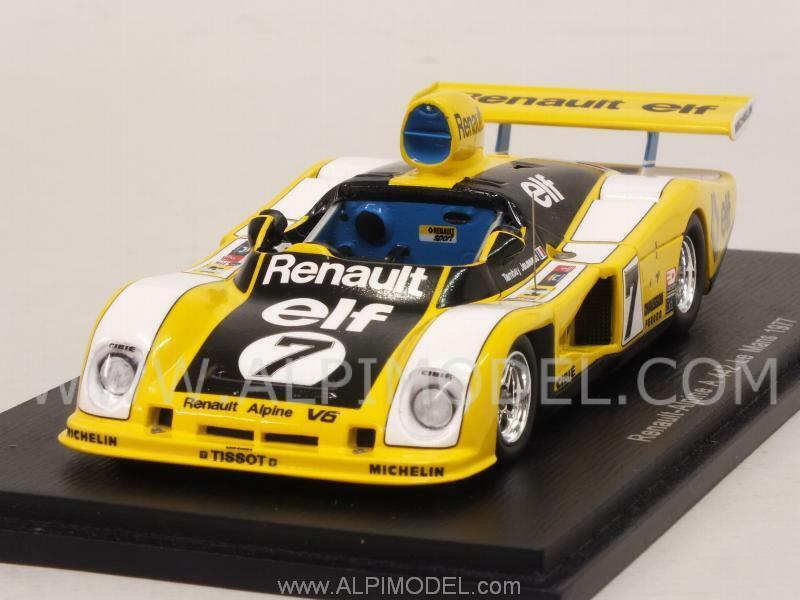 Alpine Renault A442 Le Mans 1977 Tambay - Jaussaud 1 43 SPARK S1553