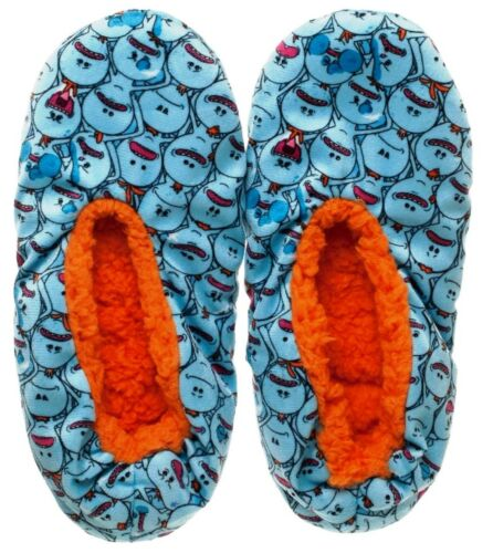 Meeseeks Adult Size Plush Cozy Slippers Rick and Morty Mr