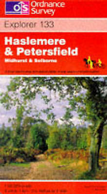 Haslemere and Petersfield, Midhurst and Selborne (Explorer Maps), Ordnance Surve